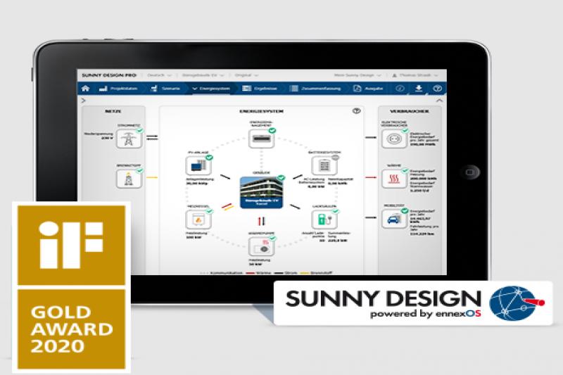 Uso y manejo practico de la herramienta SMA Sunny Design para el diseño de instalaciones de autoconsumo con y  sin acumulación. T
