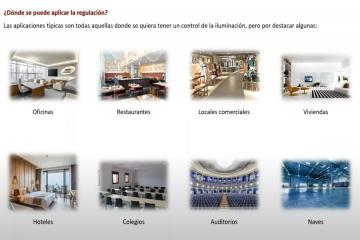 SOLUCIONES DE REGULACIÓN LED PARA VIVIENDAS, RESTAURACIÓN, OFICINAS, COLEGIOS Y HOTELES